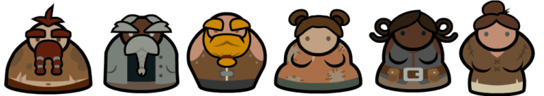 Dwarf character examples