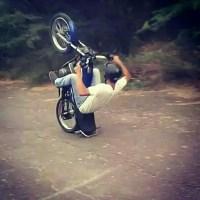 Aksi - aksi gila rider RX-King