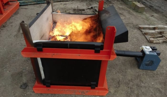 mobile incinerator hire kingwell hire