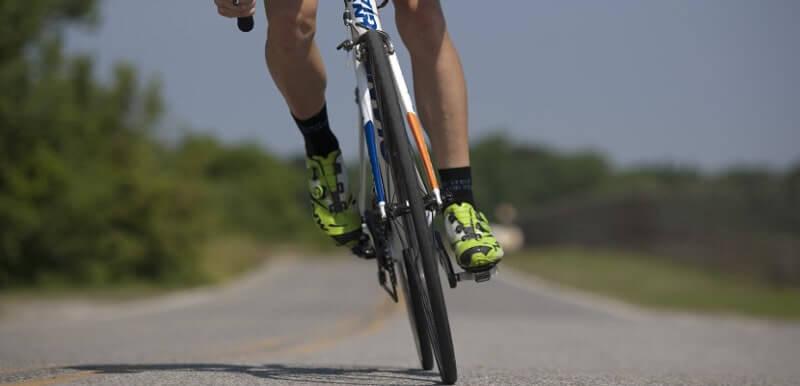 自転車で走る風景