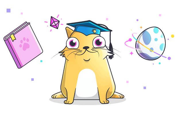 CryptoKittiesの電子猫