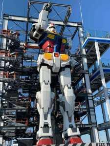 GUNDAM FACTORY 横浜 ガンダムドックから出る