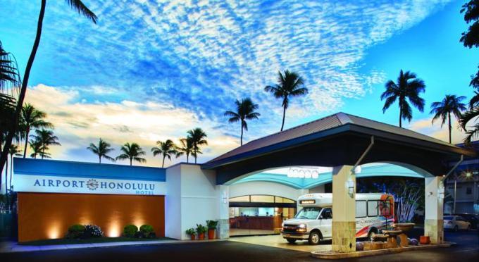 エアポート ホノルル ホテル
