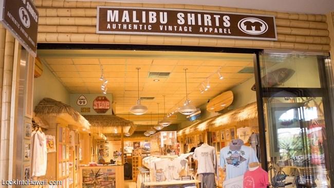 MALIBU SHIRTS The Shops at Wailea(マリブシャツ・ワイレア・ショッピングモール)詳細