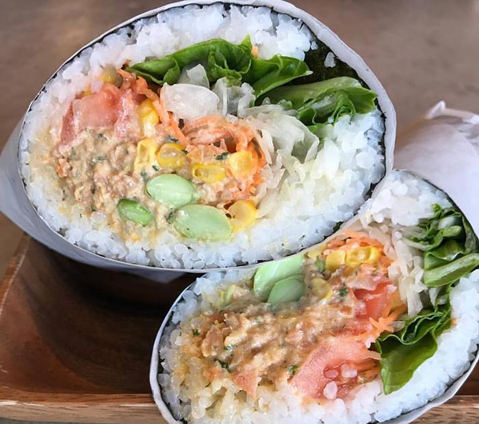 気軽なロール寿司&カフェ「Up Roll café(アップ・ロール・カフェ)」をチェック