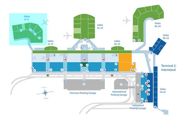 Diamond Head Concourse(ダイアモンドヘッド・コンコース)Gates 6-11