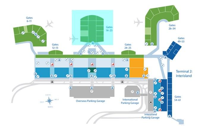 Central Concourse(Gates 14-23)
