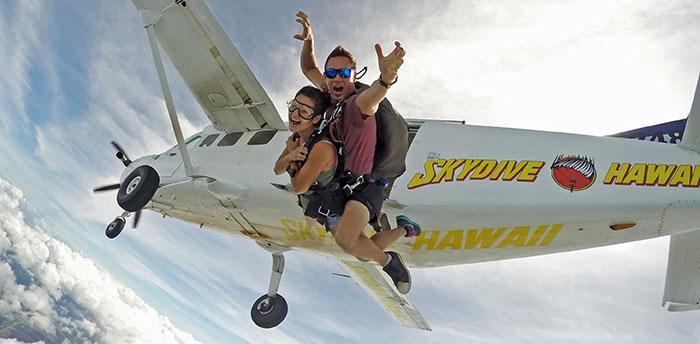 Skydive Hawaii(スカイダイブ・ハワイ)