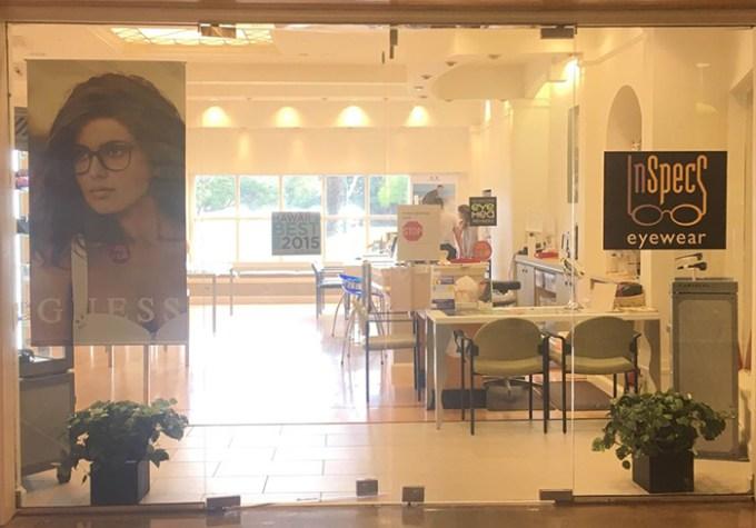 Inspecs Eyewear Ward Centre(インスペックス・アイウェア ワード・センター店)