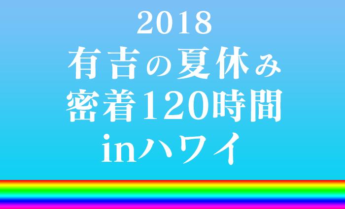 「有吉の夏休み2018 密着120時間inハワイ」で紹介されていたお店・アクティビティをチェック!①