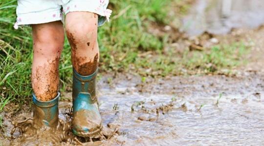 靴 泥汚れ