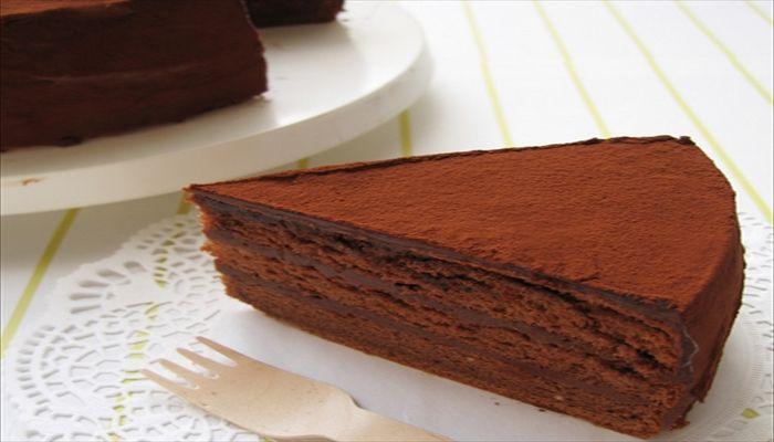 こどもの日 手作りケーキ チョコレートケーキ