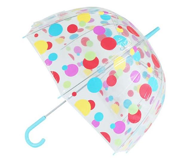 ビニール傘 かわいい ドット