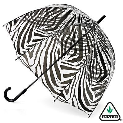 おしゃれなビニール傘 ゼブラ