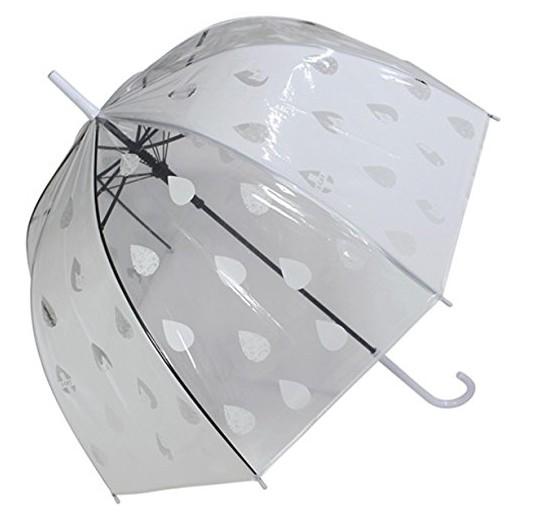ビニール傘 かわいい ドット 水玉