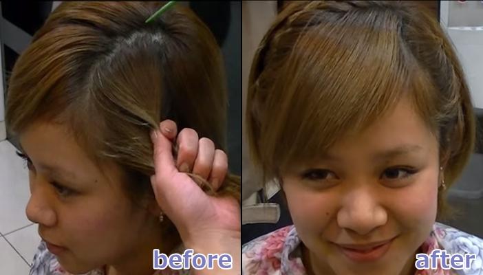 浴衣 髪型 ショート ヘアアレンジ8