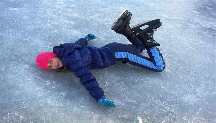 夏にすること アイススケート