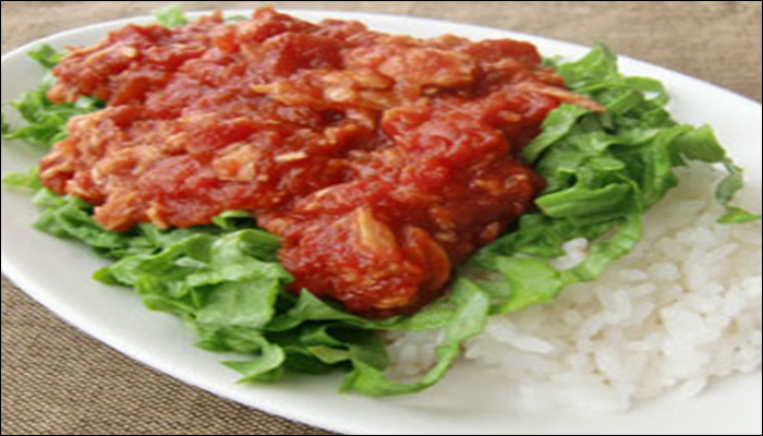 丼もの 簡単レシピ トマト缶丼