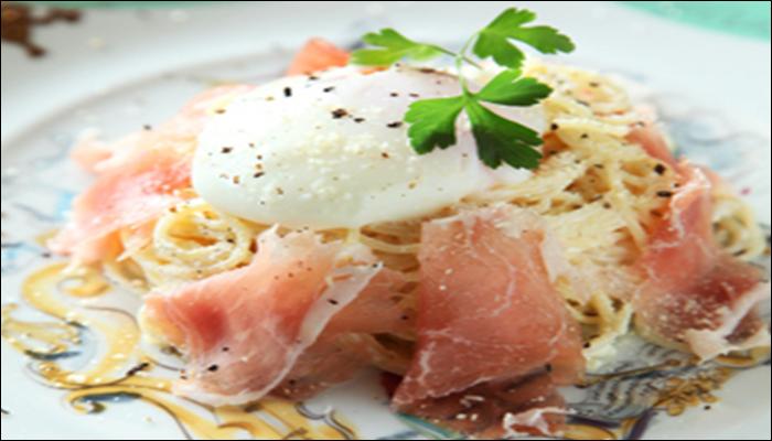 冷製パスタ 人気レシピ 冷製カルボナーラ