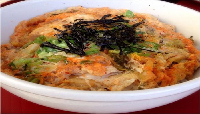 丼ものレシピ 簡単 キムチたまご丼