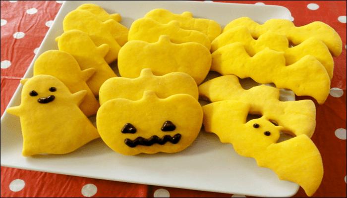 ハロウィン お菓子 レシピ クッキー かぼちゃ