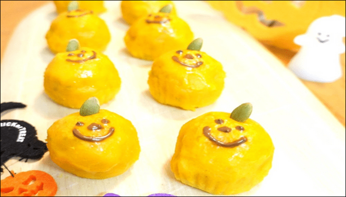 ハロウィン お菓子レシピ スイートパンプキン