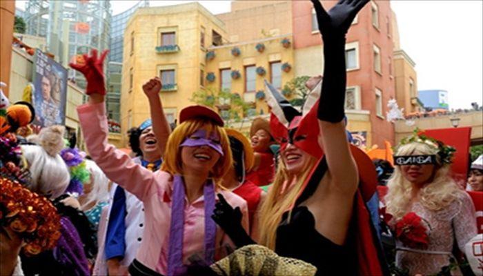 秋にしたいこと ハロウィンパレードに参加する
