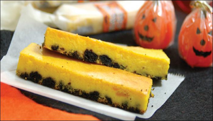 ハロウィン お菓子レシピ パウンドチーズケーキ