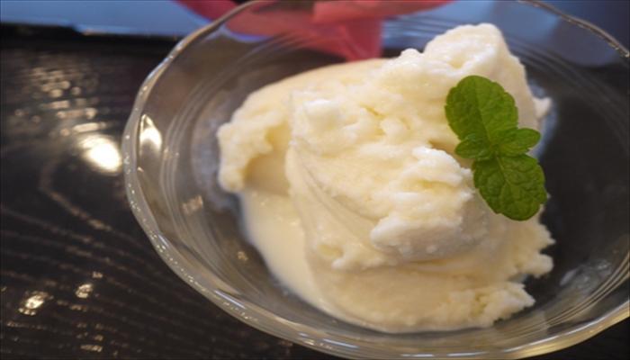豆乳レシピ 豆乳アイス