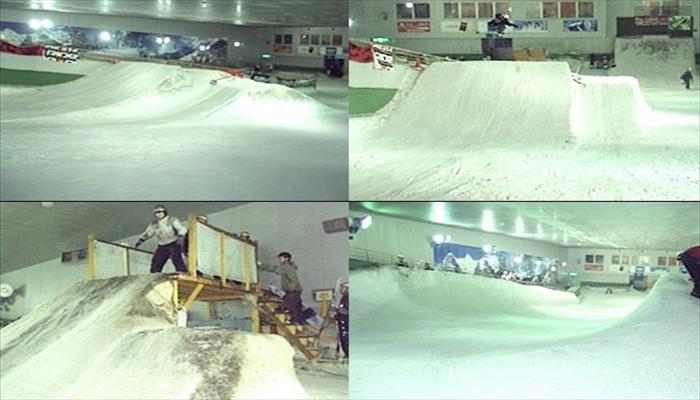 冬の遊び スノーヴァ新横浜で遊ぶ