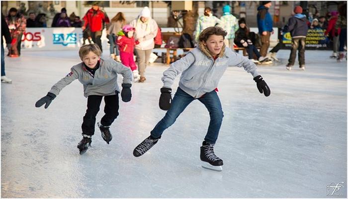 冬にすること アイススケートをする