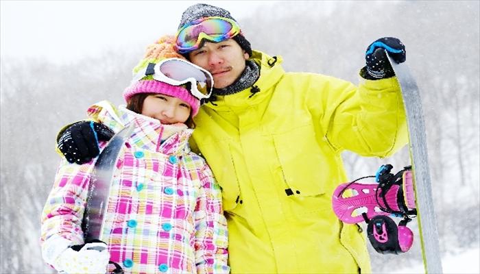 冬の遊び スノーボードをしに行く