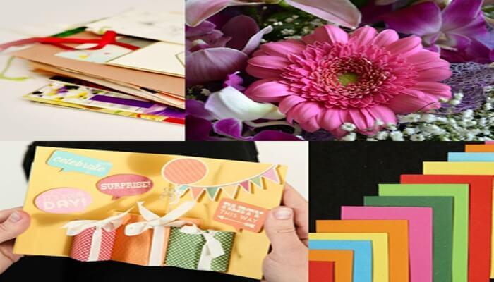 誕生日カード 手作り