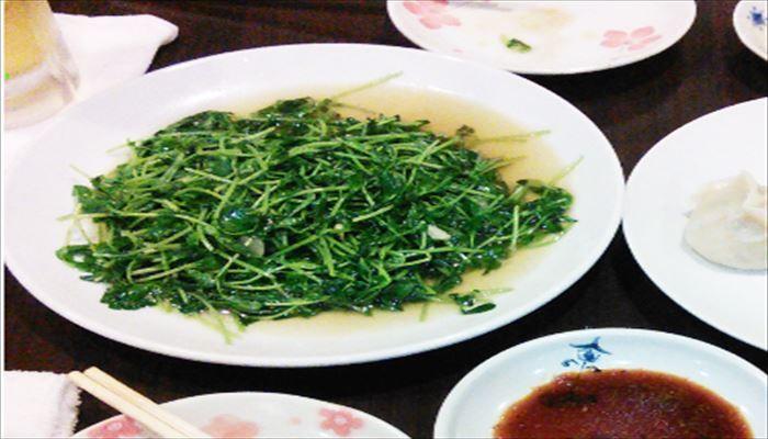 春 料理 豆苗