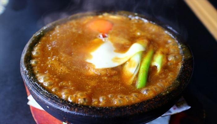 春 料理 石焼カレー