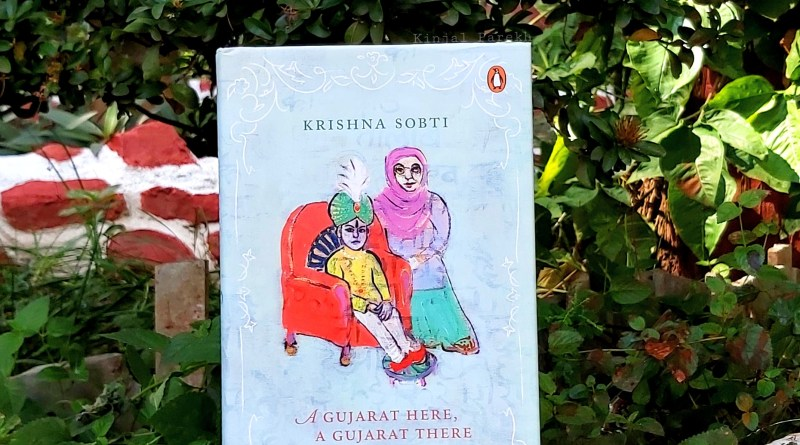 A Gujarat Here A Gujarat There by Krishna Sobti Daisy Rockwell Indian Translated Book