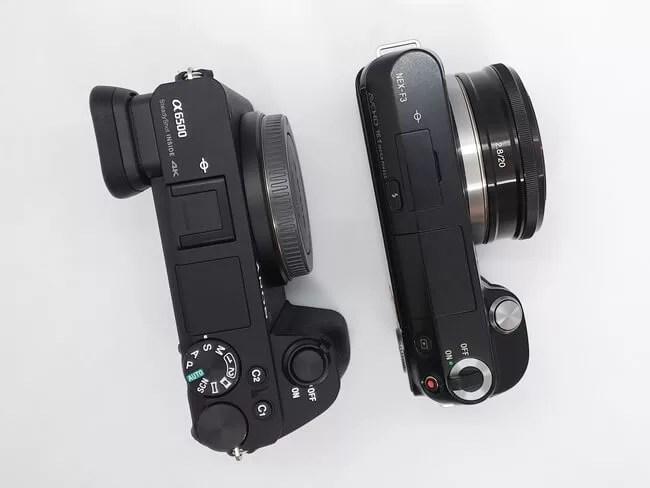 α6500とNEX-3