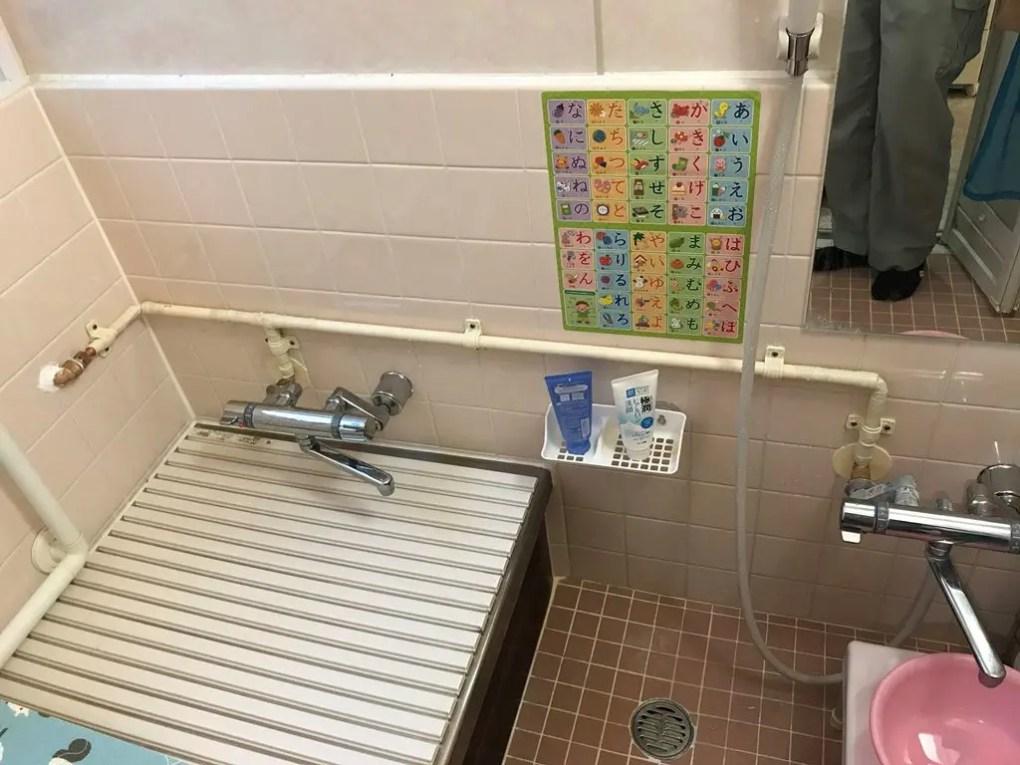 給湯管更新工事後の写真