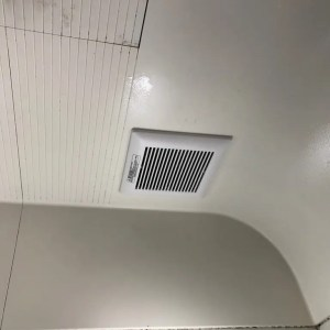 浴室換気扇取替え後