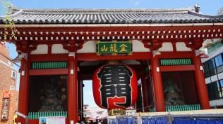 The Thunder Gate - Entrance to the Sensoji Temple