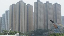 high rise living in Hong Kong