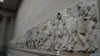 The carvings off the Parthenon are all here in London. Amazing 3D relief.