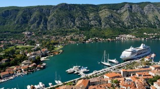 Harbor of Kotor..what a view!!