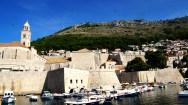 Ancient walls near the harbor