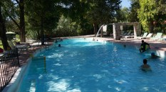 The largest hot springs pool
