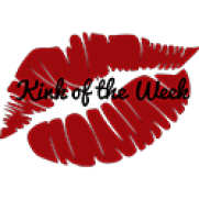 """lip print and text """"kink of the week"""""""