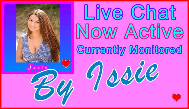 Issie Special Live Chat Host - Visitor Support Information Live Chat Support Host Name