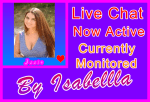 Issie Live Chat Special Purple-Pink Visitor Support Banner Image