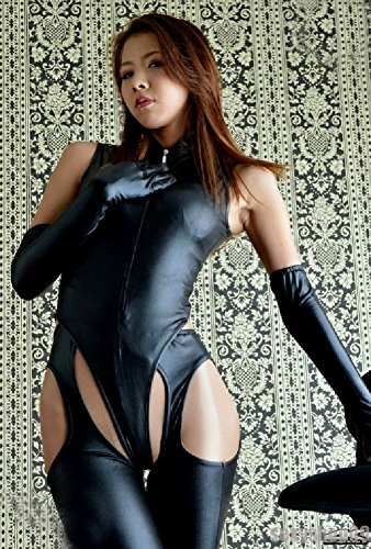 SPJ Queen Style Bondage Suit Full Set Luster Stretch Sexy