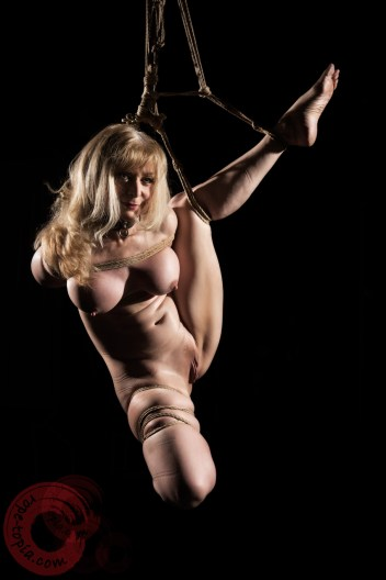 Nina Hartley tied up by WykD Dave
